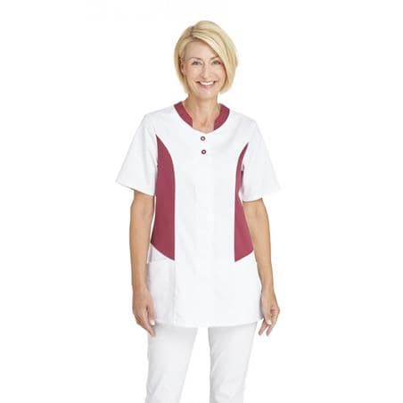 HOSENKASACK 25070 VON LEIBER in WEISS-BEERE - Heute im Angebot: Poloshirt 241 von LEIBER / Farbe: bordeaux in der Region Seddiner See - DAMENKASACK - DAMENKASACKS - KASACK - KASACKS - SCHLUPFKASACK