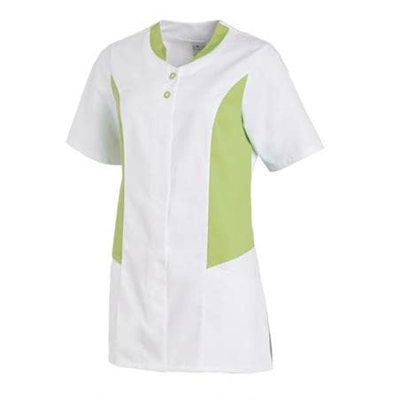 HOSENKASACK 25070 VON LEIBER in WEISS-HELLGRÜN - berufskleidung pflege medizin in ihrer Region Härtnagel, Allgäu;Härtnagel am Mariaberg - DAMENKASACK - DAMENKASACKS - KASACK - KASACKS - SCHLUPFKASACK