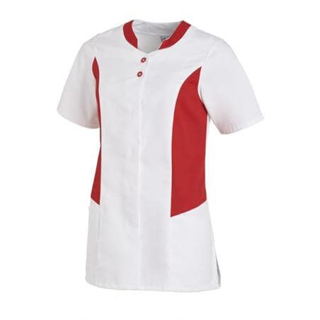 HOSENKASACK 25070 VON LEIBER in WEISS-ROT - Heute im Angebot: Poloshirt 241 von LEIBER / Farbe: bordeaux in der Region Seddiner See - DAMENKASACK - DAMENKASACKS - KASACK - KASACKS - SCHLUPFKASACK
