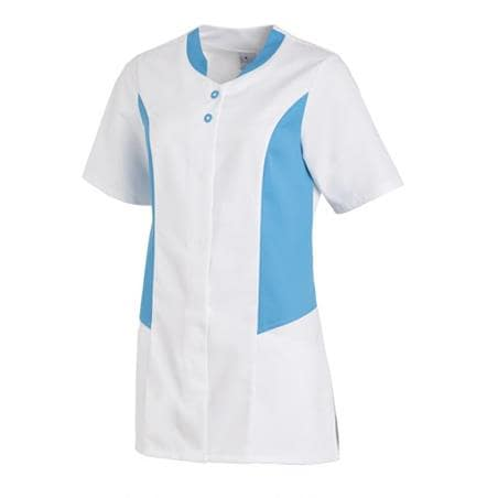 HOSENKASACK 25070 VON LEIBER in WEISS-TÜRKIS - berufskleidung pflege medizin in ihrer Region Härtnagel, Allgäu;Härtnagel am Mariaberg - DAMENKASACK - DAMENKASACKS - KASACK - KASACKS - SCHLUPFKASACK