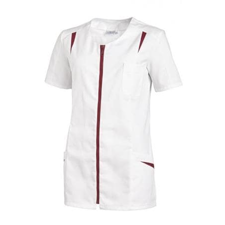 HOSENKASACK 2533 VON LEIBER in WEISS-BEERE - Heute im Angebot: Poloshirt 241 von LEIBER / Farbe: bordeaux in der Region Seddiner See - DAMENKASACK - DAMENKASACKS - KASACK - KASACKS - SCHLUPFKASACK