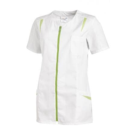 HOSENKASACK 2533 VON LEIBER in WEISS-HELLGRÜN - berufskleidung pflege medizin in ihrer Region Härtnagel, Allgäu;Härtnagel am Mariaberg - DAMENKASACK - DAMENKASACKS - KASACK - KASACKS - SCHLUPFKASACK