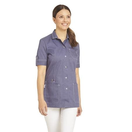 HOSENKASACK 2586 VON LEIBER in BLAU - berufskleidung pflege medizin in ihrer Region Härtnagel, Allgäu;Härtnagel am Mariaberg - DAMENKASACK - DAMENKASACKS - KASACK - KASACKS - SCHLUPFKASACK