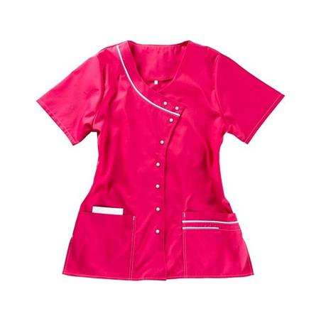 KASACK 1789 VON BEB / FARBE: PINK-WEISS - berufskleidung pflege medizin in ihrer Region Härtnagel, Allgäu;Härtnagel am Mariaberg - DAMENKASACK - DAMENKASACKS - KASACK - KASACKS - SCHLUPFKASACK