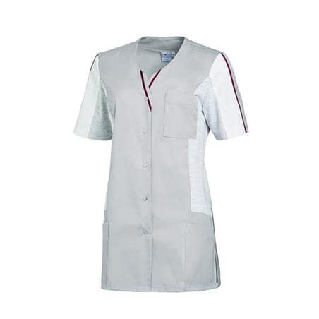 KASACK 2735 VON LEIBER in GRAU-WEISS - berufskleidung pflege medizin in ihrer Region Härtnagel, Allgäu;Härtnagel am Mariaberg - DAMENKASACK - DAMENKASACKS - KASACK - KASACKS - SCHLUPFKASACK
