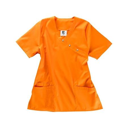 KASACK 941 VON BEB / FARBE: ORANGE - Heute im Angebot: Poloshirt 241 von LEIBER / Farbe: bordeaux in der Region Seddiner See - DAMENKASACK - DAMENKASACKS - KASACK - KASACKS - SCHLUPFKASACK