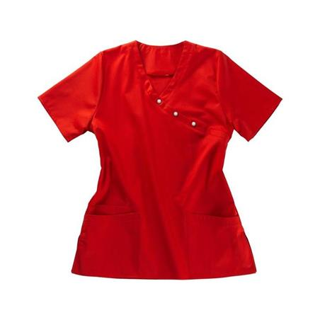 KASACK 941 VON BEB / FARBE: ROT - Heute im Angebot: Poloshirt 241 von LEIBER / Farbe: bordeaux in der Region Seddiner See - DAMENKASACK - DAMENKASACKS - KASACK - KASACKS - SCHLUPFKASACK