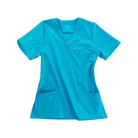 KASACK 941 VON BEB / FARBE: TÜRKIS - berufskleidung pflege medizin in ihrer Region Härtnagel, Allgäu;Härtnagel am Mariaberg - DAMENKASACK - DAMENKASACKS - KASACK - KASACKS - SCHLUPFKASACK