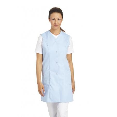 KASACK OHNE ARM 3900 VON LEIBER in HELLBLAU - berufskleidung pflege medizin in ihrer Region Härtnagel, Allgäu;Härtnagel am Mariaberg - DAMENKASACK - DAMENKASACKS - KASACK - KASACKS - SCHLUPFKASACK