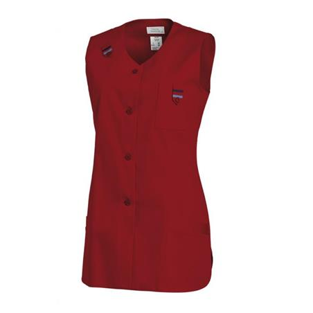 KASACK OHNE ARM 477 VON LEIBER in ROT - berufskleidung pflege medizin in ihrer Region Härtnagel, Allgäu;Härtnagel am Mariaberg - DAMENKASACK - DAMENKASACKS - KASACK - KASACKS - SCHLUPFKASACK