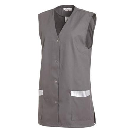 KASACK OHNE ARM 515 VON LEIBER in GRAU - berufskleidung pflege medizin in ihrer Region Härtnagel, Allgäu;Härtnagel am Mariaberg - DAMENKASACK - DAMENKASACKS - KASACK - KASACKS - SCHLUPFKASACK