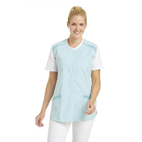 KASACK OHNE ARM 706 VON LEIBER in RESEDA - berufskleidung pflege medizin in ihrer Region Härtnagel, Allgäu;Härtnagel am Mariaberg - DAMENKASACK - DAMENKASACKS - KASACK - KASACKS - SCHLUPFKASACK