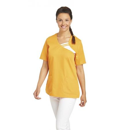 SCHLUPFJACKE 1255 VON LEIBER / FARBE: SUN - berufskleidung pflege medizin in ihrer Region Härtnagel, Allgäu;Härtnagel am Mariaberg - DAMENKASACK - DAMENKASACKS - KASACK - KASACKS - SCHLUPFKASACK