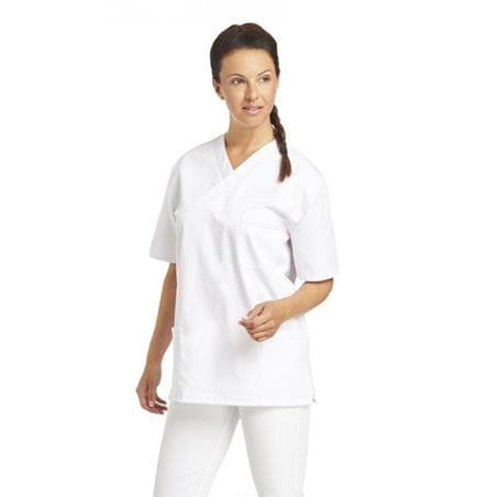 DAMEN - SCHLUPFJACKE 2451 VON LEIBER / FARBE: WEISS - berufskleidung pflege medizin in ihrer Region Härtnagel, Allgäu;Härtnagel am Mariaberg - DAMENKASACK - DAMENKASACKS - KASACK - KASACKS - SCHLUPFKASACK