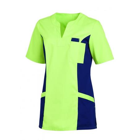 SCHLUPFJACKE 2650 VON LEIBER / FARBE: HELLGRÜN-MARINE - berufskleidung pflege medizin in ihrer Region Härtnagel, Allgäu;Härtnagel am Mariaberg - DAMENKASACK - DAMENKASACKS - KASACK - KASACKS - SCHLUPFKASACK