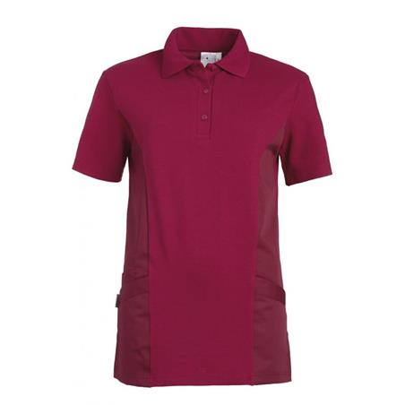 SCHLUPFJACKE - POLO - 2546 VON LEIBER / FARBE: BEERE - Heute im Angebot: Poloshirt 241 von LEIBER / Farbe: bordeaux in der Region Seddiner See - DAMENKASACK - DAMENKASACKS - KASACK - KASACKS - SCHLUPFKASACK