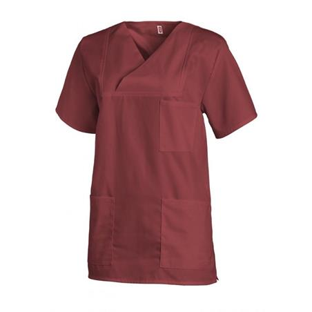 DAMEN-SCHLUPFJACKE 769 VON LEIBER / FARBE: BORDEAUX - berufskleidung pflege medizin in ihrer Region Härtnagel, Allgäu;Härtnagel am Mariaberg - DAMENKASACK - DAMENKASACKS - KASACK - KASACKS - SCHLUPFKASACK