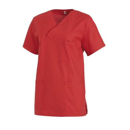 DAMEN-SCHLUPFJACKE 769 VON LEIBER / FARBE: ROT - berufsbekleidung medizin frauen in ihrer Region Allershagen - DAMENKASACK - DAMENKASACKS - KASACK - KASACKS - SCHLUPFKASACK