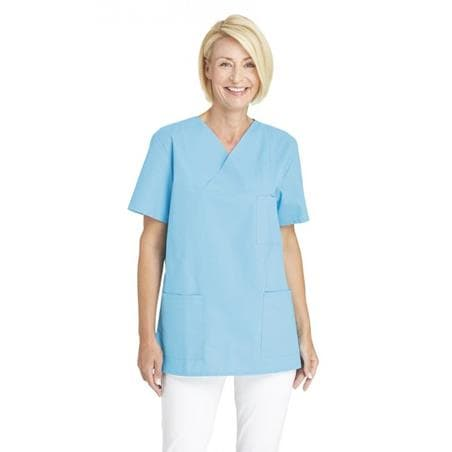DAMEN-SCHLUPFJACKE 769 VON LEIBER / FARBE: TÜRKIS - berufskleidung pflege medizin in ihrer Region Härtnagel, Allgäu;Härtnagel am Mariaberg - DAMENKASACK - DAMENKASACKS - KASACK - KASACKS - SCHLUPFKASACK